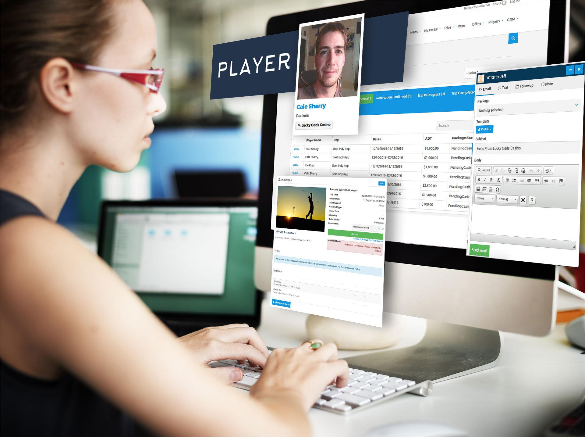 Effective Software Creates the Best Service for VIP Players & Player Development- TRIO360 Interview [VIDEO]